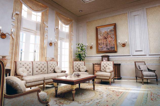 Cómo decorar un hogar de estilo clásico