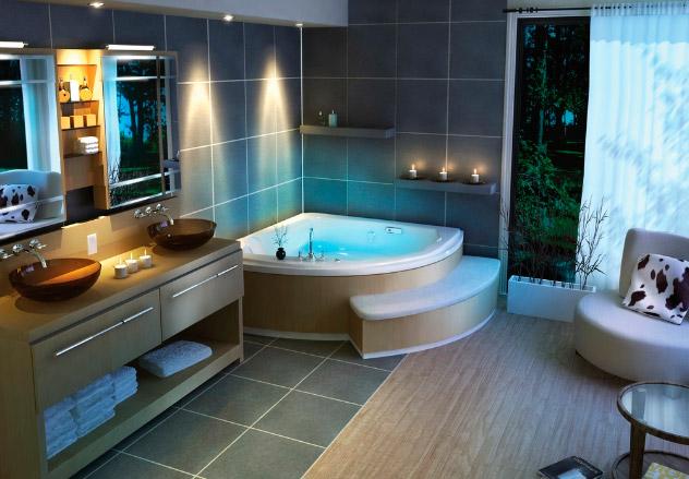 Cuartos de baño con encanto