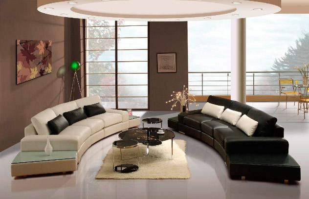 Decorar un salón de estilo moderno