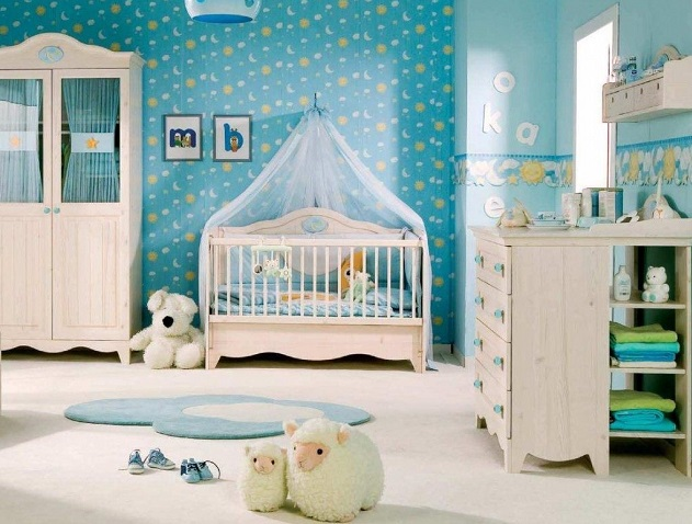 Influencia de la decoración infantil en los bebés