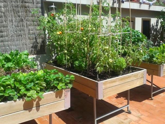 Decoraci n e interiorismo en for Mesa de cultivo casera