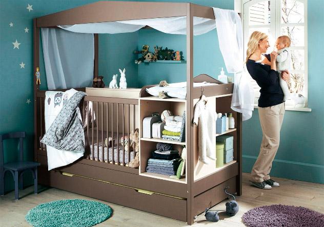 Colores para la habitación del bebé | Wiki Decoración