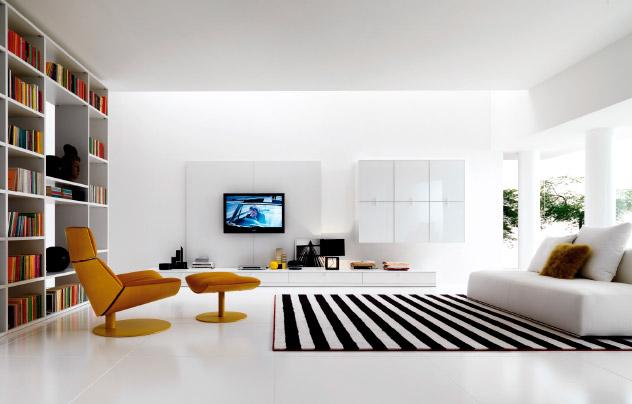 Tips para decorar un salón de estilo moderno